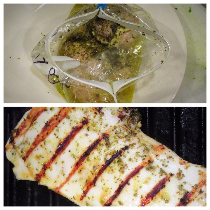 Greek chicken with tzatziki marinate