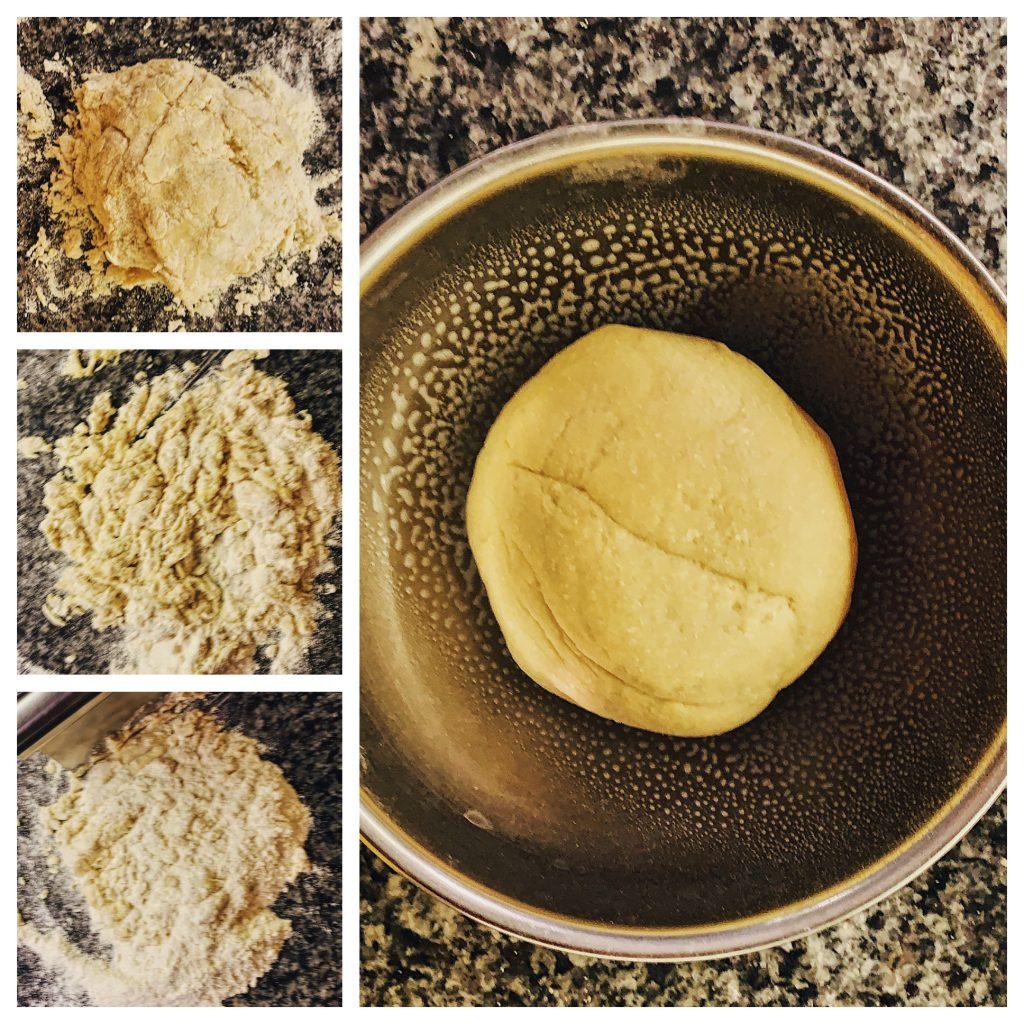 Creating Dough Ball for Homemade Pasta