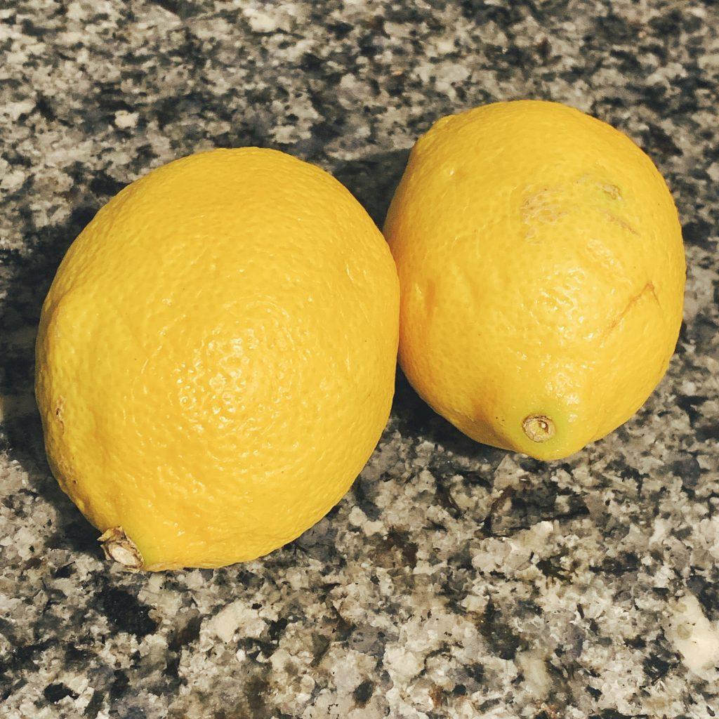 five things always in my refrigerator lemons
