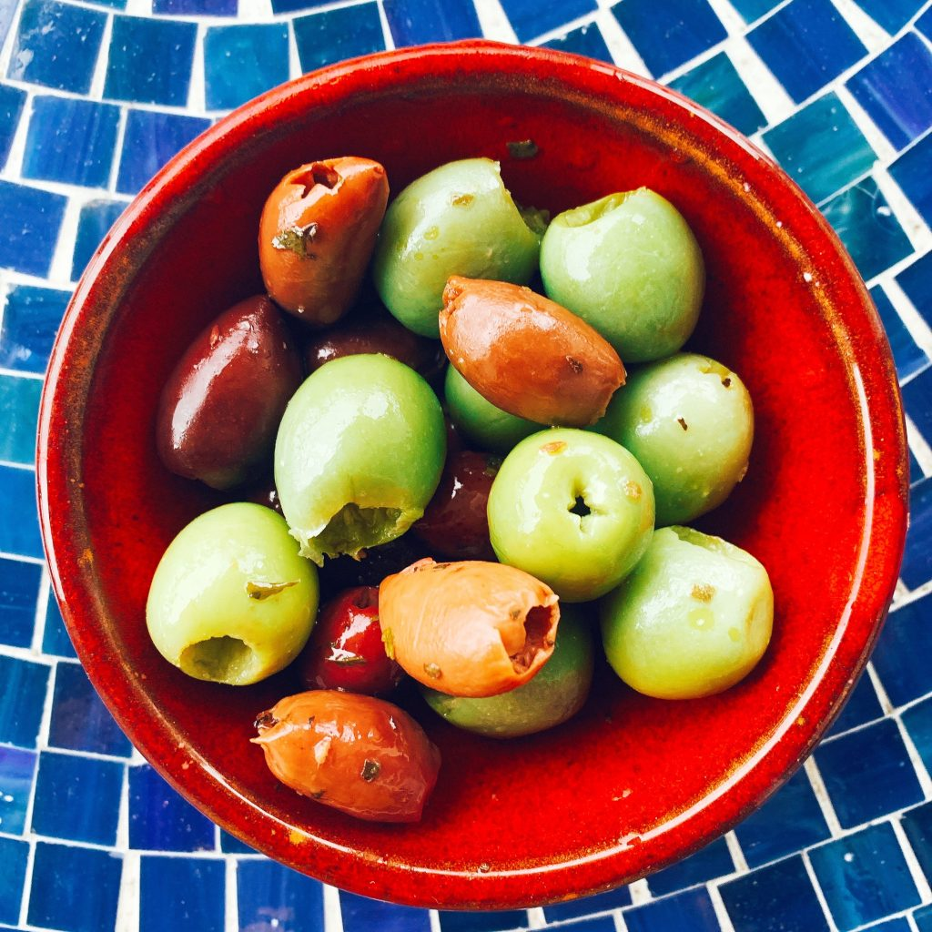 five things always in my refrigerator olives
