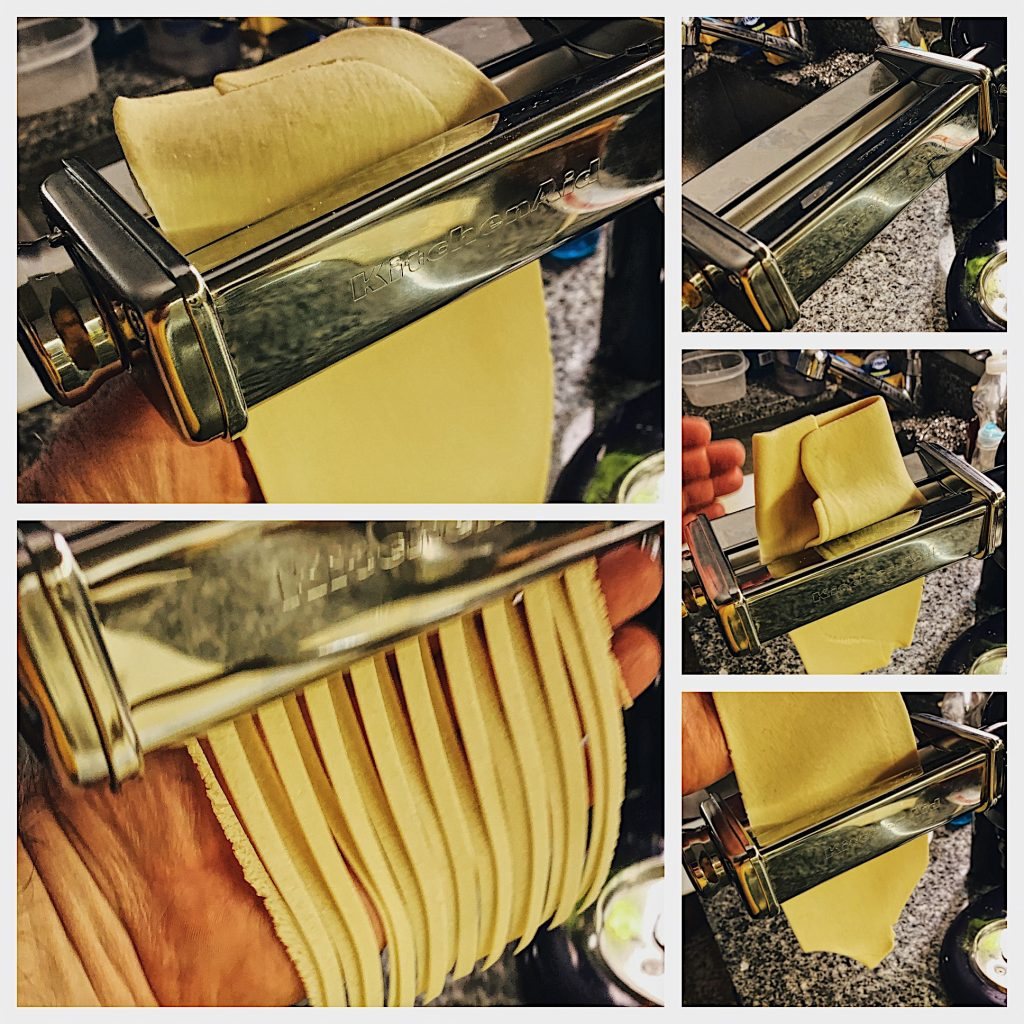 Rolling and Cutting Homemade Pasta