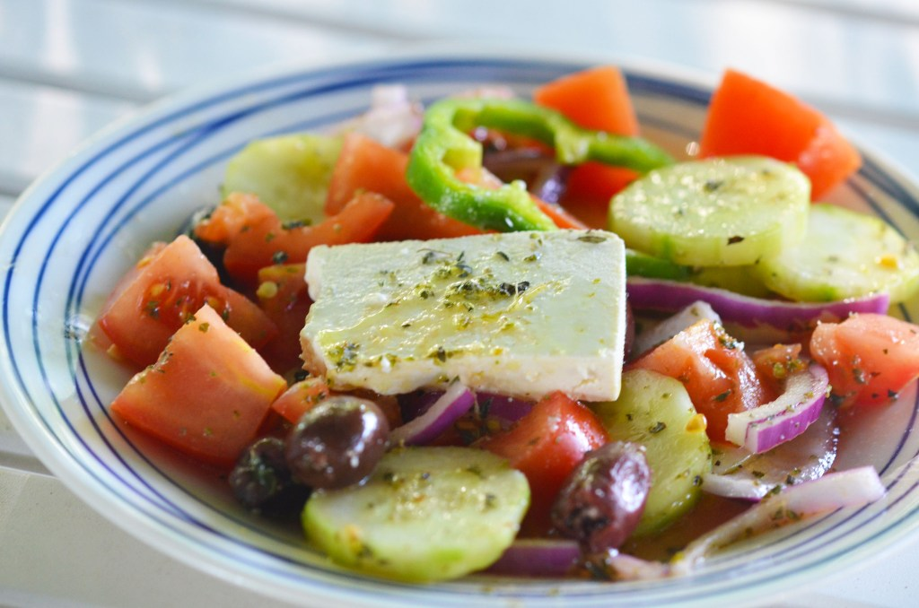 pantry essentials red wine vinegar as greek salad dressing