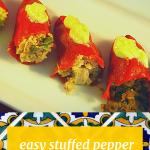 Stuffed Pepper Tapas Mediterranean Food