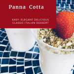 Panna Cotta Classic Italian Dessert