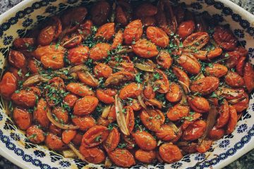 Roasted Tomatoes in Balsamic