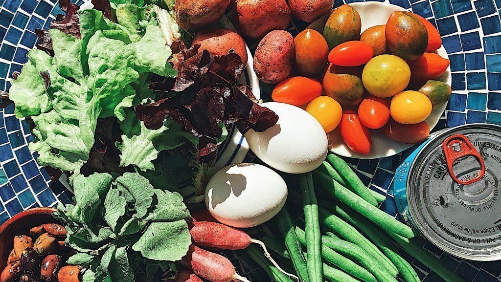 Salad Nicoise Ingredients