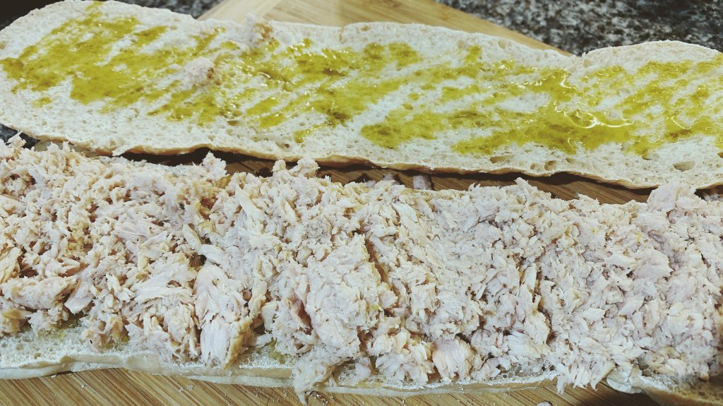 Pan Bagnat Bread with Tuna