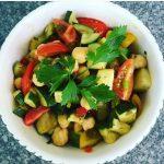 Sautéed Courgette Salad