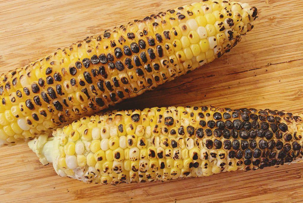 Sweet Corn Salad Grilled Corn