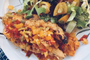 chili rellenos with a spanish twist