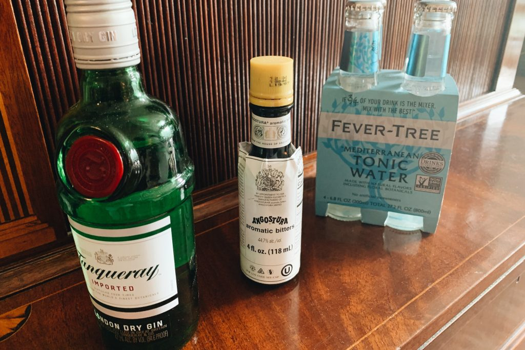 Gin Tonic Ingredients
