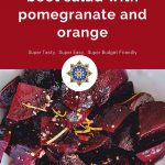 Beet Salad with Pomegranate and Orange