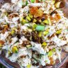 Chicken Salad with Apricots and Pistachios
