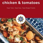 Pan Braised Chicken and Tomatoes