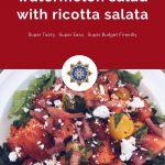 Watermelon Salad with Ricotta Salata