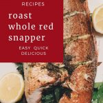 Roast Whole Red Snapper Pin