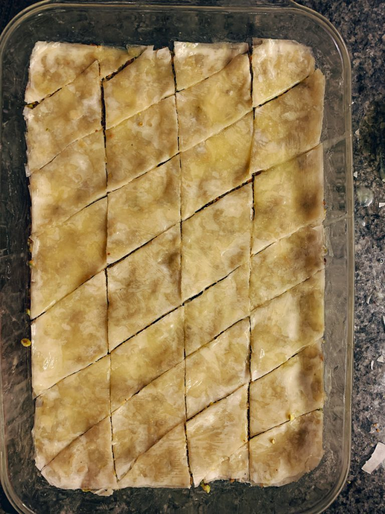 Baklava Diamond Cut