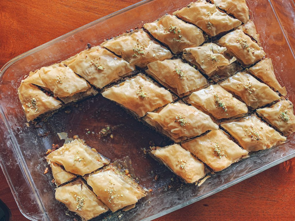 Baklava Enjoyed
