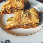 Baklava on Plate