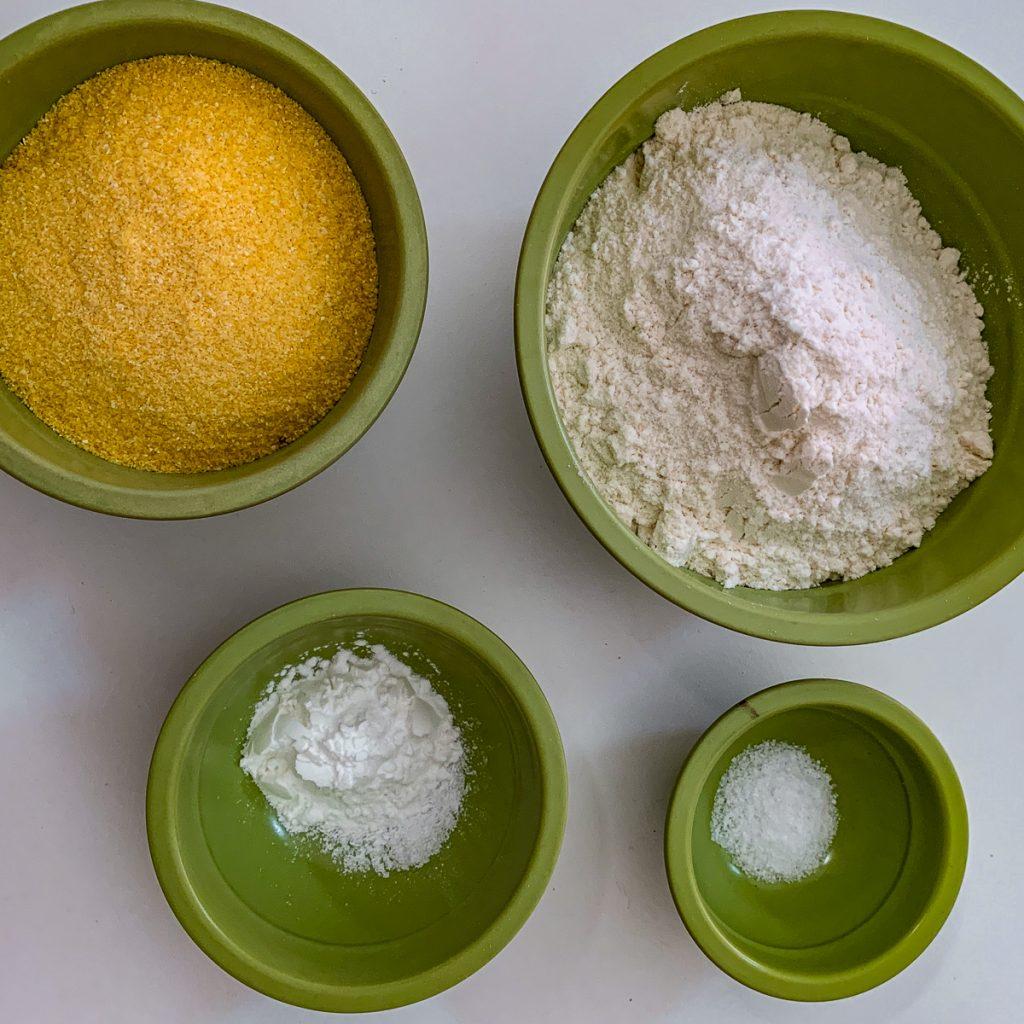Blood Orange Polenta Dry Ingredients