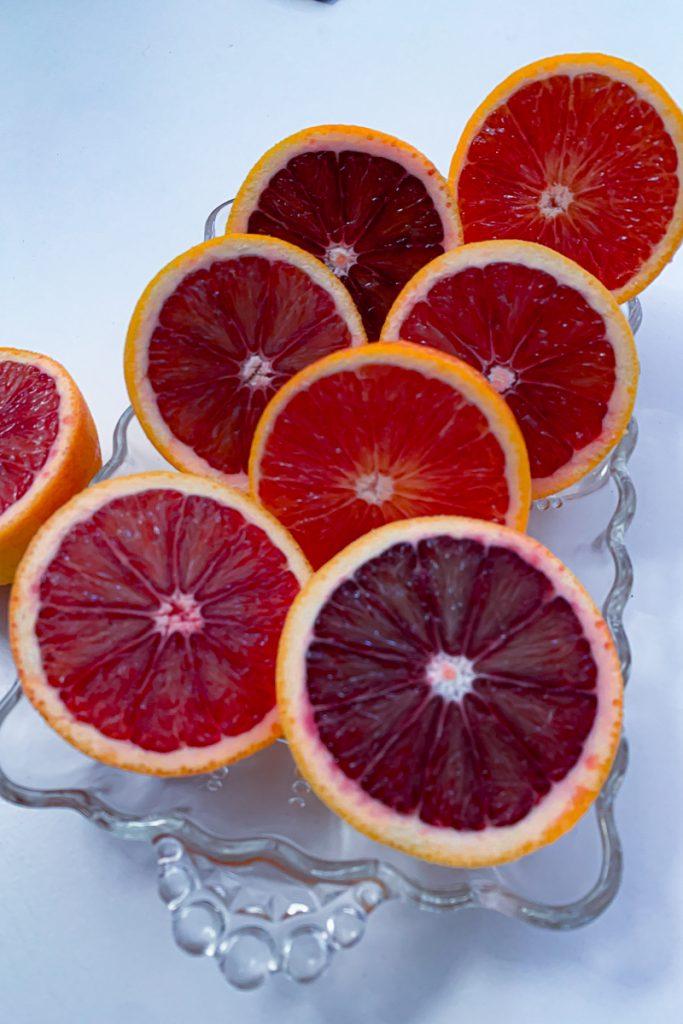 Blood Orange Halves
