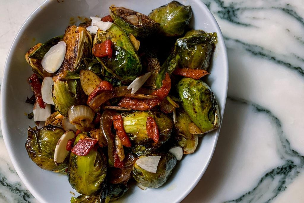 Sweet and Smoky Brussels Sprouts IG