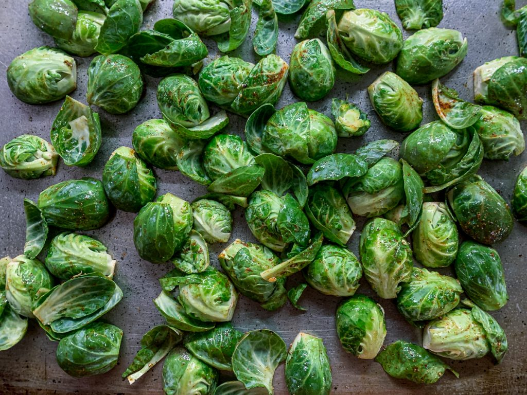 Brussels Sprouts Ready to Roast