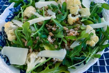 Roast Cauliflower and Farro salad Featured