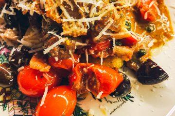 Cherry Tomato Puttanesca Featured