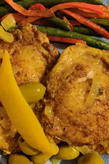 Chicken Lemon and Olives Featured