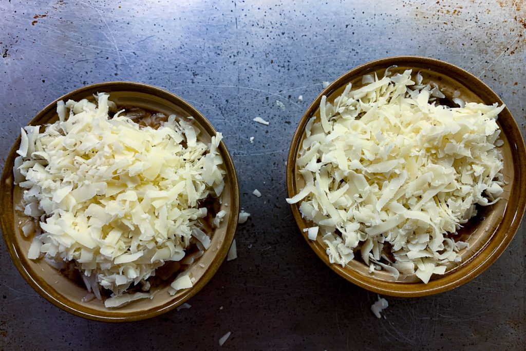 French Onion Soup Topped