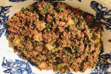 Kisir Turkish Bulgur Salad Featured