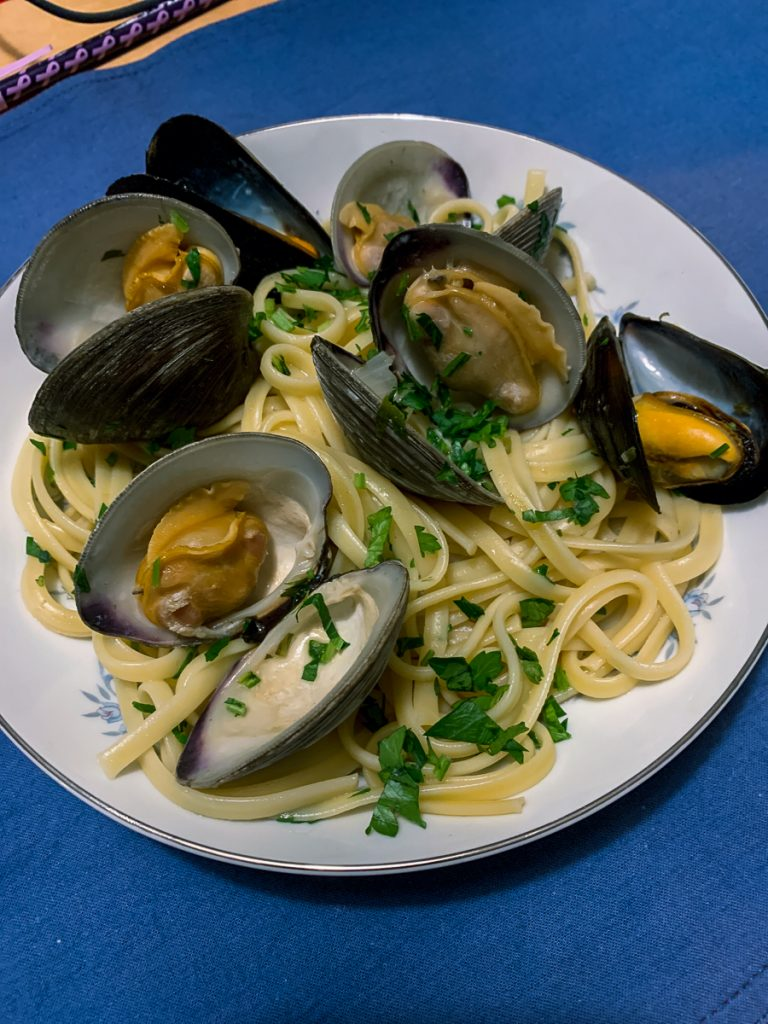 Linguine Mussels and Clams IG