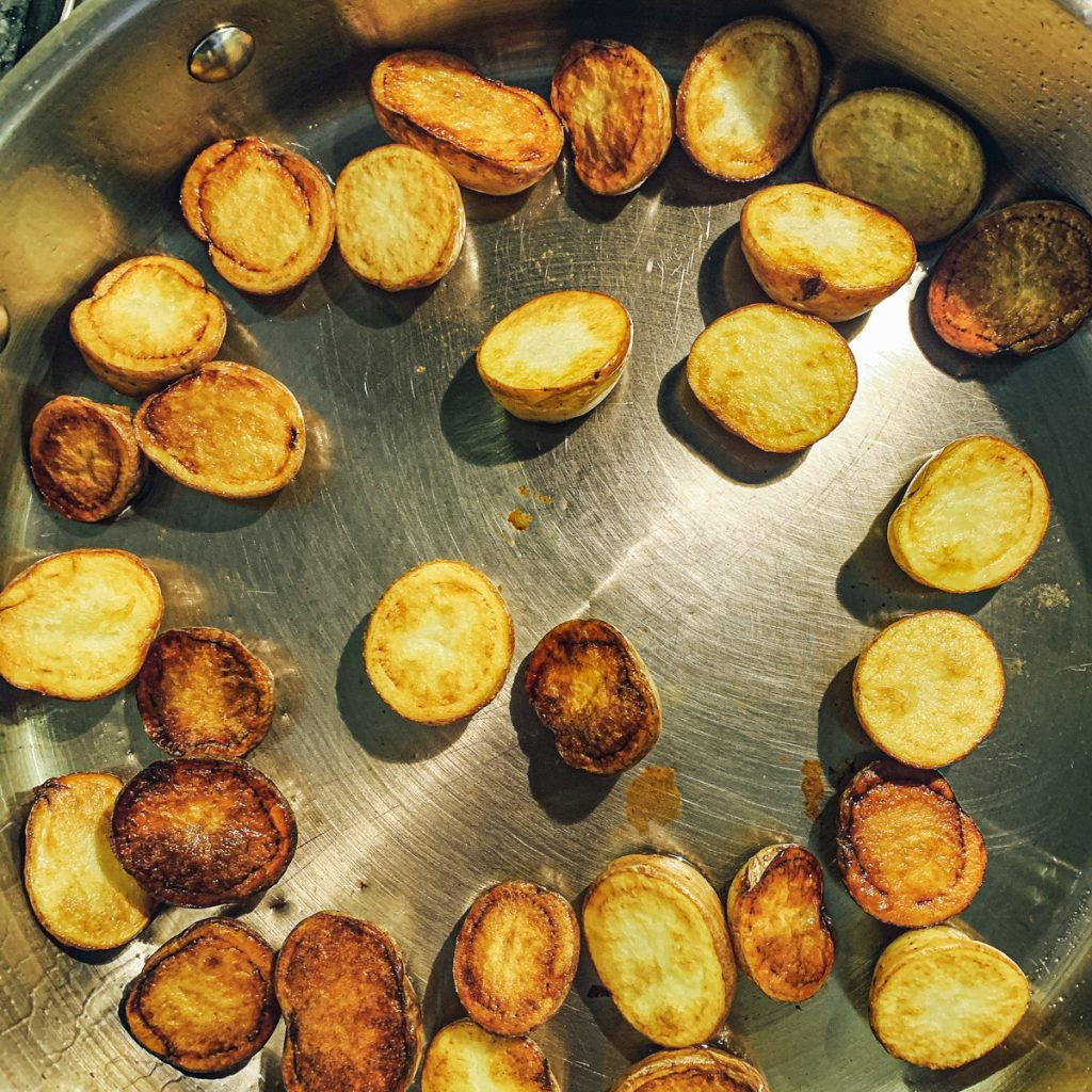 Potatoes Browned