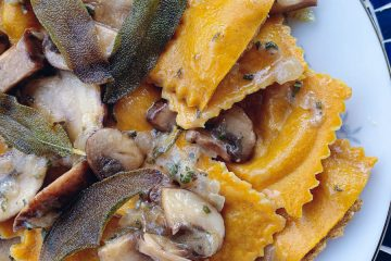 Pumpkin Ravioli Featured