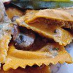 Pumpkin Ravioli Closeup