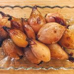 Red Wine Glazed Shallots
