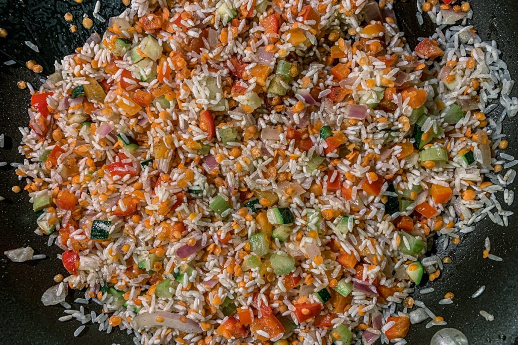 Rice Pilaf Sautéed in Butter