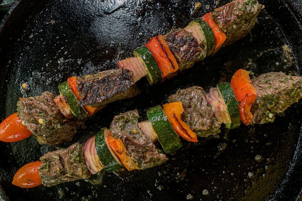 Mediterranean Beef Kebabs