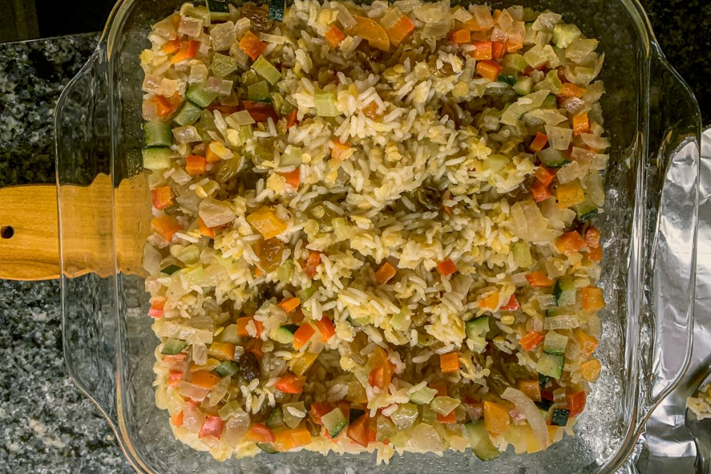 Rice Pilaf Finished