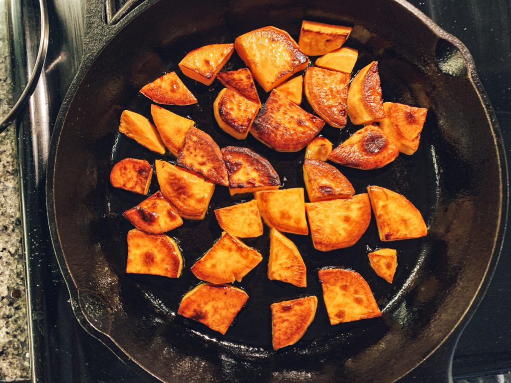 Sweet Potato Browned
