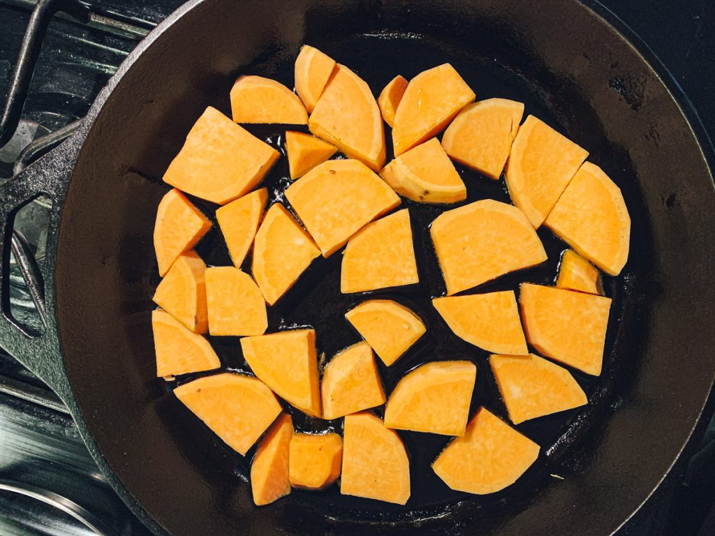 Sweet Potato Cooking