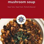 White Bean Farro Mushroom Pin