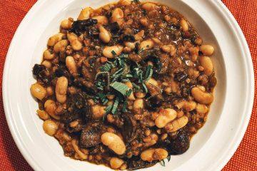 White Bean Farro Mushroom Featured