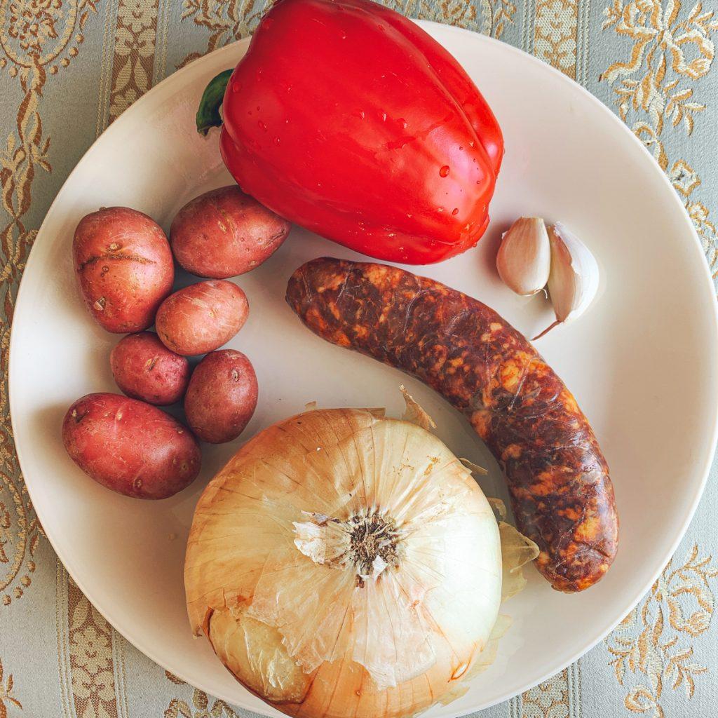 Chorizo Filling Ingredients