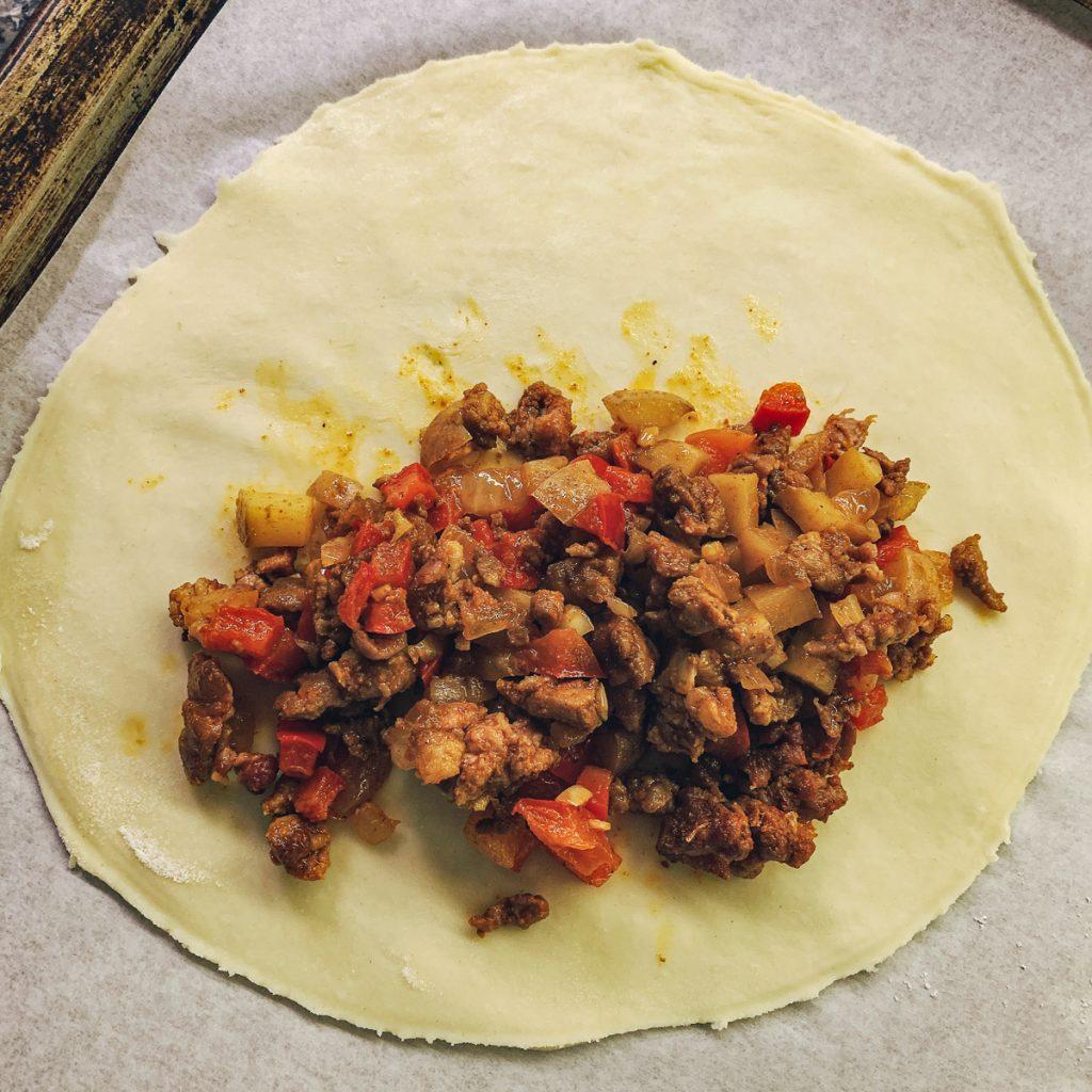 empanada chorizo filling