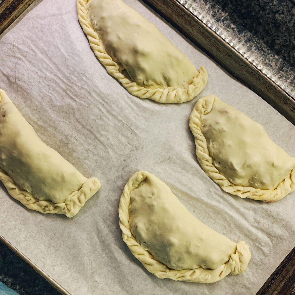 empanada waiting to bake